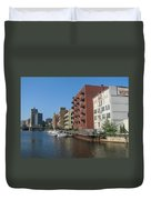 Milwaukee River Architechture 1 Duvet Cover
