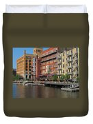 Milwaukee River Architecture 4 Duvet Cover