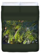 Mimosa At Sunset Duvet Cover