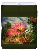 Mimosa Blossoms Duvet Cover