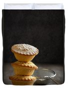 Mince Pie Stack Duvet Cover