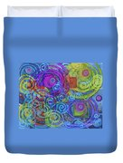 Out Of My Mind Duvet Cover