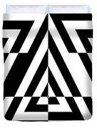 Mind Games 21 Panoramic Duvet Cover