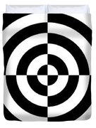 Mind Games 3 Panoramic Duvet Cover