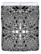 B W Sq 5 Duvet Cover