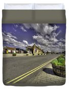 Minehead Station  Duvet Cover