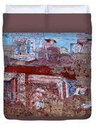 Miner Wall Art 2 Duvet Cover