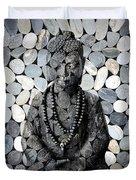 Mineral Buddha Duvet Cover