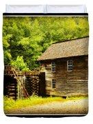 Mingus Mill -- Poster Duvet Cover