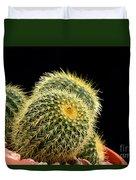 Mini Cactus In A Pot Duvet Cover