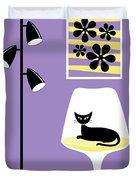 Mini Groovy Flowers 3 Duvet Cover