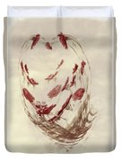 Mini Mum Art Bouquet Duvet Cover