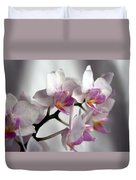 Mini Orchids 1 Duvet Cover