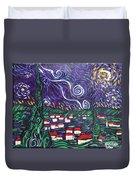 Mini Starry Night Duvet Cover