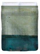Minima - S02b Turquoise Duvet Cover