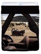 Mining Equipment Duvet Cover