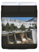 Mining History Duvet Cover