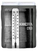 Minnesota Cold Duvet Cover