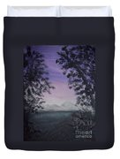 Minnesota Sunset Duvet Cover