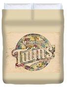 Minnesota Twins Poster Vintage Duvet Cover