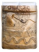 Minoan Jar Duvet Cover