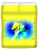 You Dogs Truly Are Minor Angels As They Say But Whats In It For You   Duvet Cover