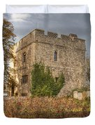 Minster Abbey Gatehouse Duvet Cover