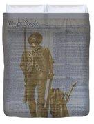 Minuteman Constitution Duvet Cover