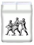 Minutemen: Spirit Of 1776 Duvet Cover