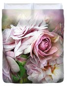 Miracle Of A Rose - Mauve Duvet Cover