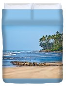 Mirissa Beach Sri Lanka Duvet Cover