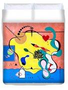 Miro Miro On The Wall Duvet Cover