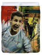 Miroslav Klose Duvet Cover