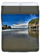 Mirror In The Sand Duvet Cover