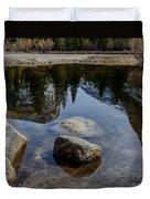 Mirror Lake Threesome 2 Yosemite Duvet Cover