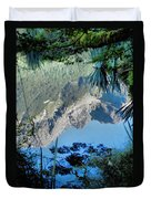 Mirror Lake Two New Zealand Duvet Cover