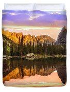 Mirror Lake Yosemite National Park Duvet Cover