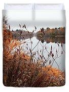 Mirror Smooth River Duvet Cover