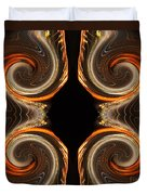 Mirrored Abstract Duvet Cover