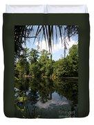Mirrow Lake - Magnolia Gardens Duvet Cover