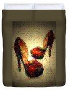 Misbehavin Shoes Duvet Cover