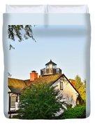 Mispillion Lighthouse - Lewes Delaware Duvet Cover