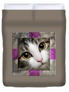 Miss Tilly The Gift 1 Duvet Cover by Andee Design