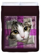 Miss Tilly The Gift 3 Duvet Cover by Andee Design