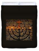 Missing Prayer Duvet Cover