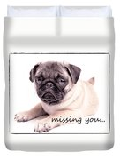 Missing You... Duvet Cover by Edward Fielding