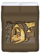 Mission Arches Duvet Cover
