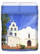 Mission Basilica San Diego De Alcala Usa Duvet Cover