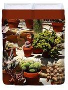 Mission Cactus Garden Duvet Cover