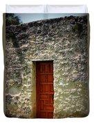 Mission Concepcion - Door Duvet Cover